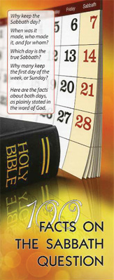 100 facts on the Sabbath tract