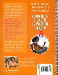 Amazing Health Cookbook backcover