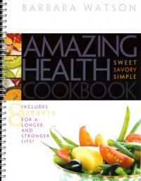 Amazing Health Cookbook cover