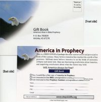 America in Prophecy Card