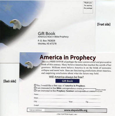 America in Prophecy Card