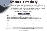 America in Prophecy Card Back