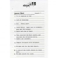 Steps to Life Bible Studies Answer Key