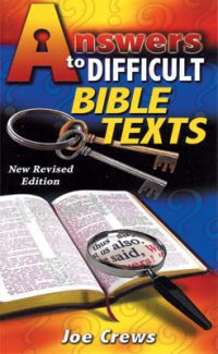 Answers to Difficult Bible Texts booklet