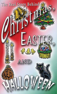 Christmas, Easter and Halloween book