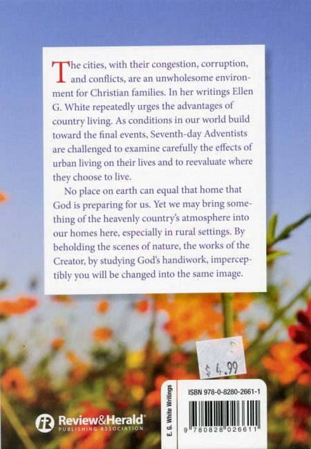 Country Living back cover