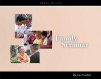 Family Seminar cover