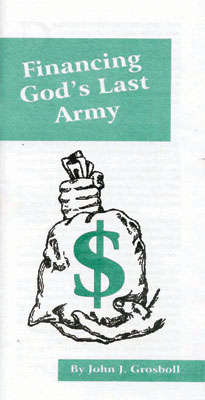 Financing God's Last Army booklet
