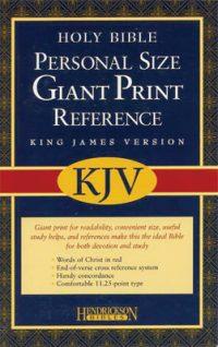 Giant Print KJV Bible