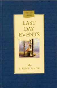 Last Day Events hardback