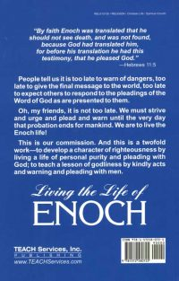 Living the Life of Enoch Back
