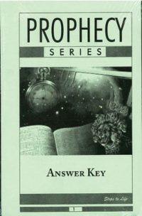 Prophecy Series Answer Key