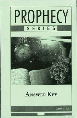 Prophecy Series Answer Key