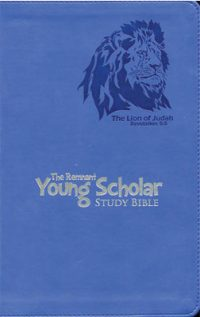 The Remnant Young Scholar Study Bible NKJV Blue
