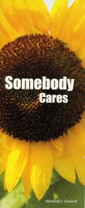 Somebody Cares Booklet