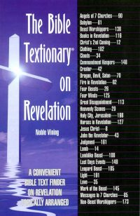 The Bible Textionary on Revelation front