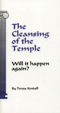 The Cleansing of the Temple booklet