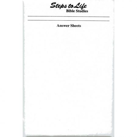 Cover for Steps to Life Bible Studies Answer Key