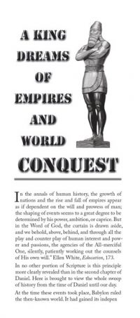 A King Dreams of Empires and World Conquest