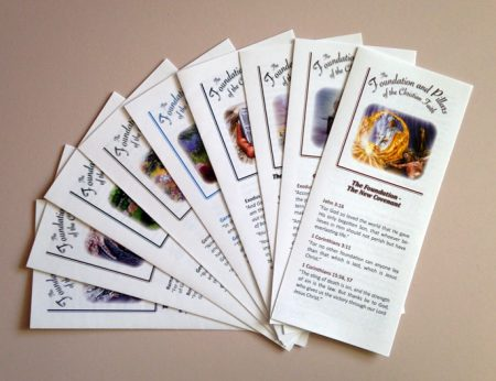 Foundation and Pillars of the Christian Faith - Tracts