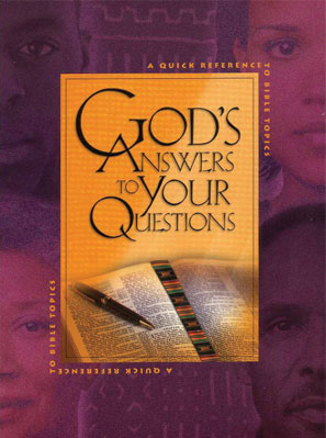 God's Answers to Your Questions book