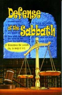 Defense of the Sabbath