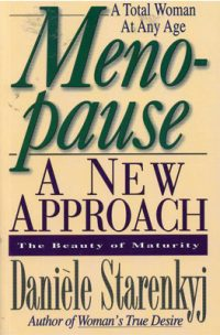 Menopause - A New Approach book