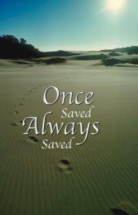 Once Saved Always Saved?