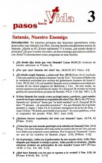 Sample Spanish Bible Study