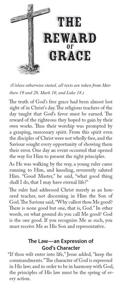 The Reward of Grace