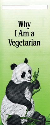 Why I am A Vegetarian tract