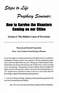 How to Survive disasters coming on Cities notes