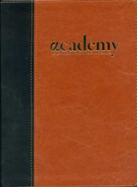 Academy Study Bible Chestnut cover