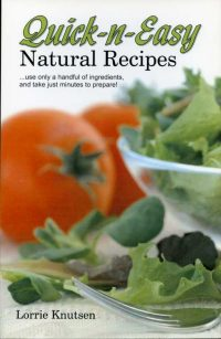 Quick and Easy Natural Recipes book cover