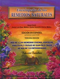 Enciclopedia de los Remedios Naturales book cover hardback
