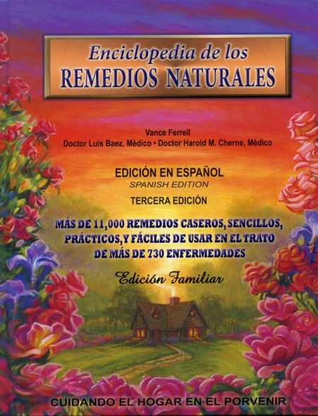 Enciclopedia de los Remedios Naturales book cover hardback