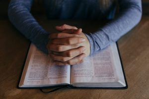 Prayer with the Bible