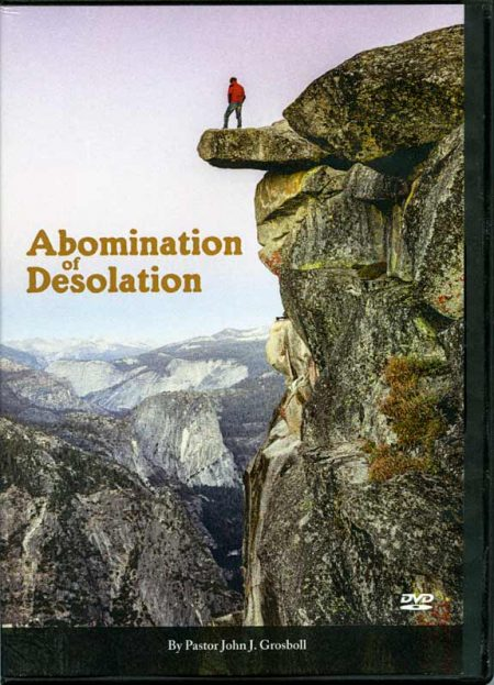 Abomination of Desolation cover DVD set
