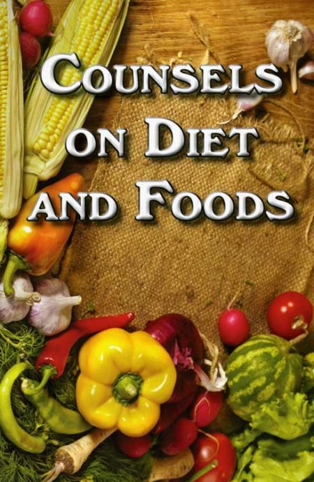 Counsels on Diet and Foods PB cover