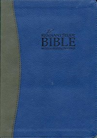 Remnant-Study-Bible-Blue Cover without box