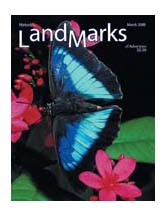 LandMarks March 2008 cover