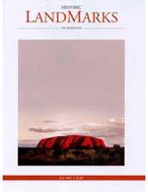 LandMarks July 2008 cover