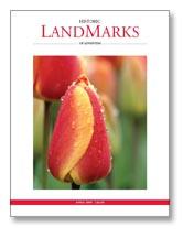 LandMarks April 2008 cover