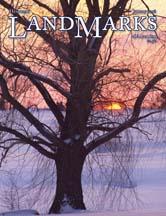 LandMarks January 2008 cover
