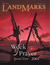 LandMarks cover October 2004