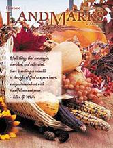 LandMarks cover November 2004