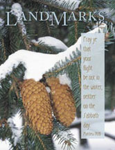 LandMarks December 2004 cover