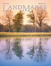 LandMarks cover February 2004