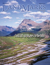 LandMarks March 2004 cover