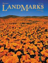 LandMarks July 2004 cover